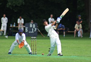 Waqas keeps his eye on the ball